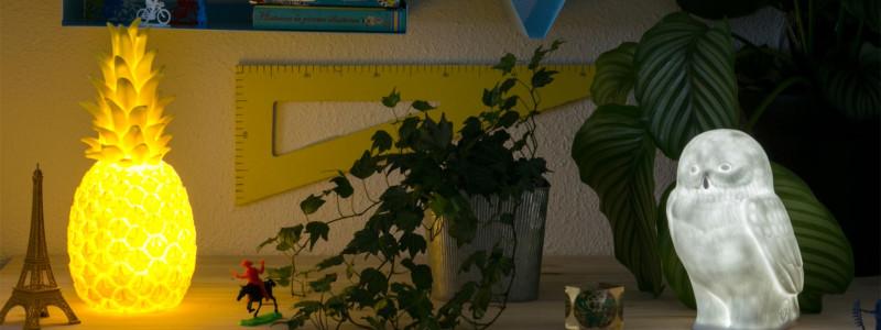 Uitpakfeestje: De Goodnight Light Piña Colada Ananas Nachtlamp afbeelding