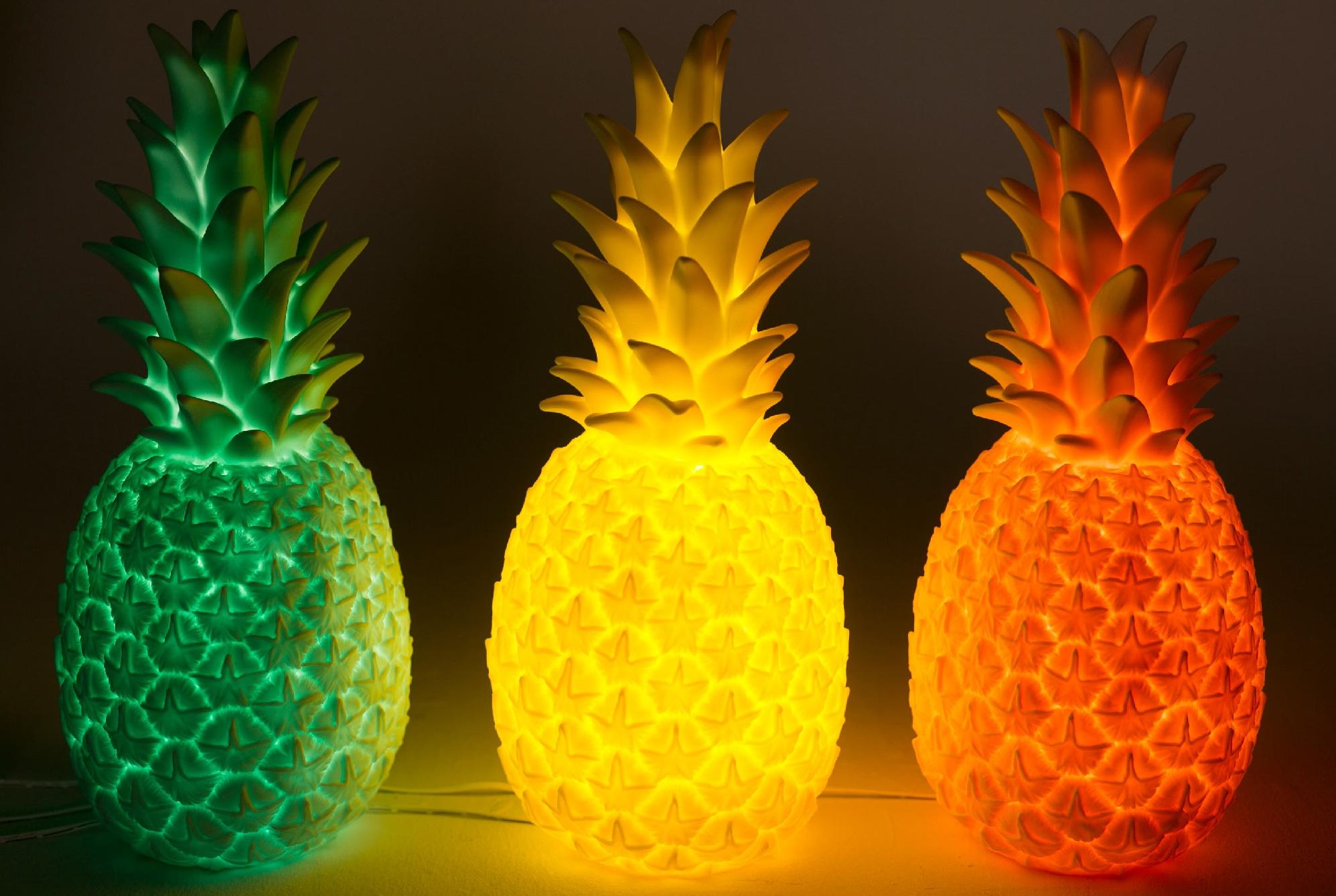 Uitpakfeestje 2016: goodnight light piña colada ananas