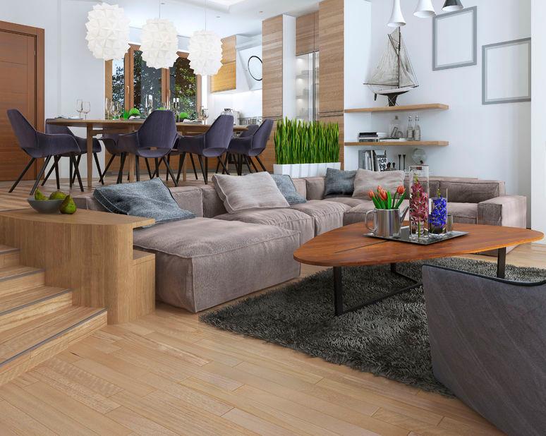 Alle woontrends voor 2017 kleuren materialen meubels for Interieur aubergine