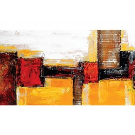 Artprint Abstract afm. 110x60 cm