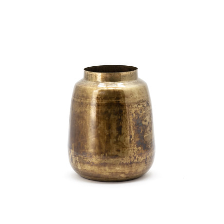 By-Boo Vaas 'The Nile Vase 2', kleur goud