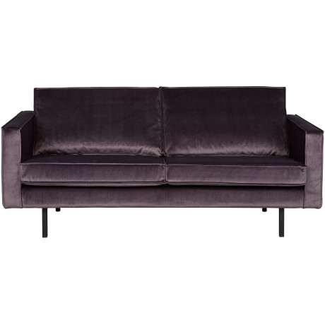 Bepurehome Bank 'Rodeo' 2,5-zits, Velvet Grijs