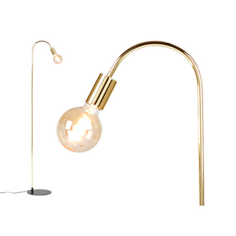 Octavia staande lamp, messing