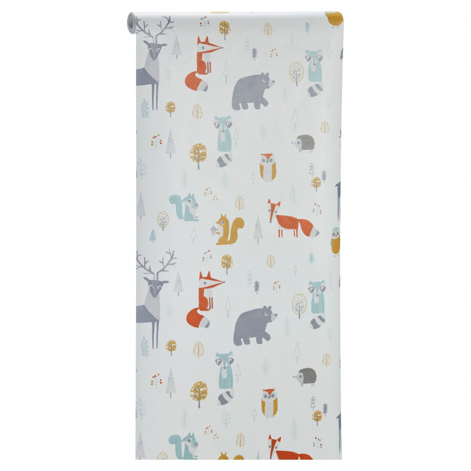 Behang Noah Multicolor afbeelding