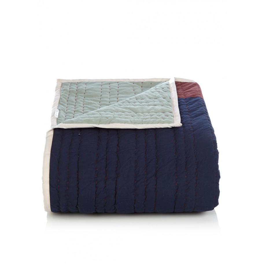 Hay Bedsprei Quilts   Mondriaan   Donkerblauw   Hay