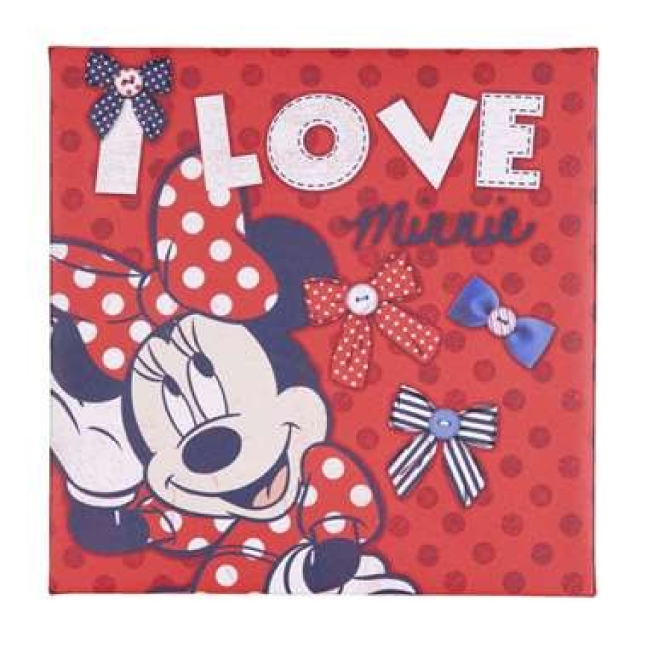Graham & Brown canvas Minnie - 30x30 cm afbeelding
