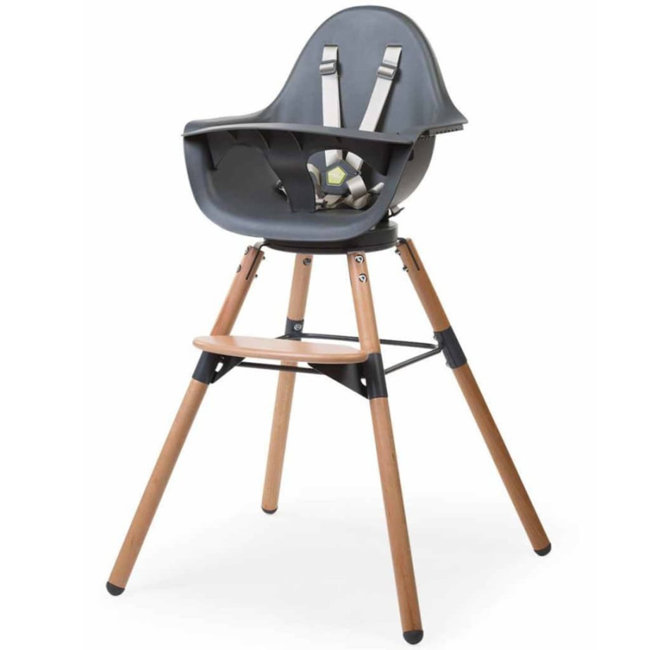 CHILDWOOD Kinderstoel 2-in-1 Evolu One.80° antraciet CHEVO180NA afbeelding