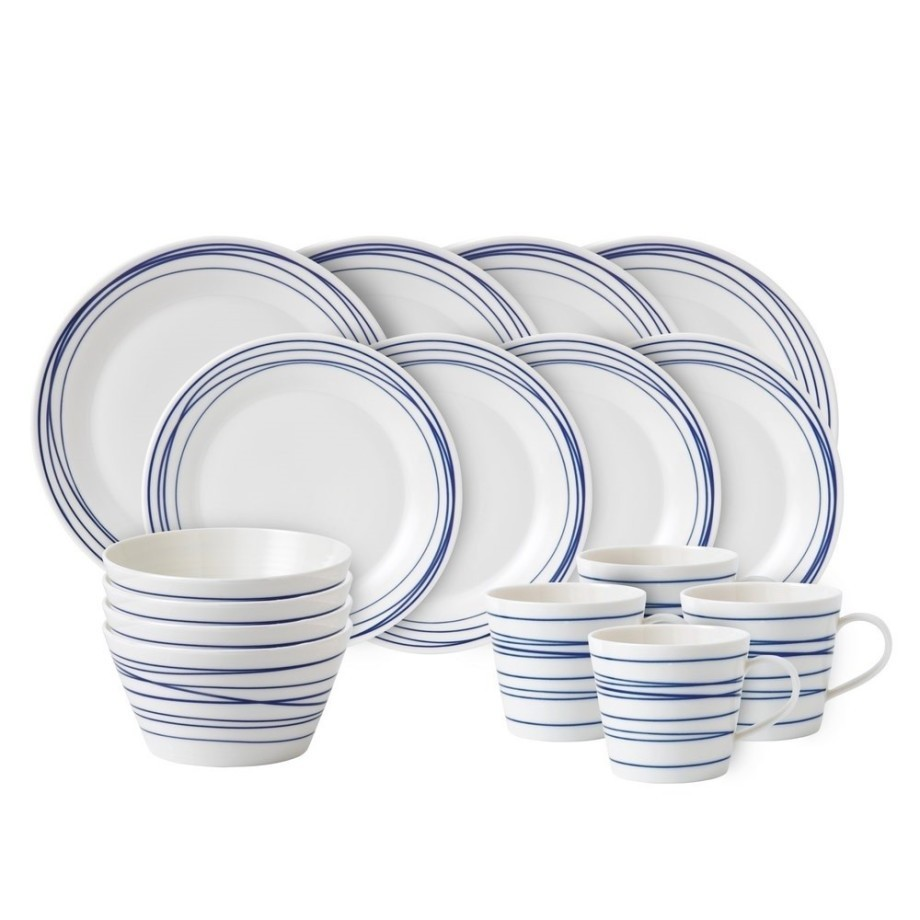Royal Doulton Pacific Serviesset 16-Delig - Lines afbeelding