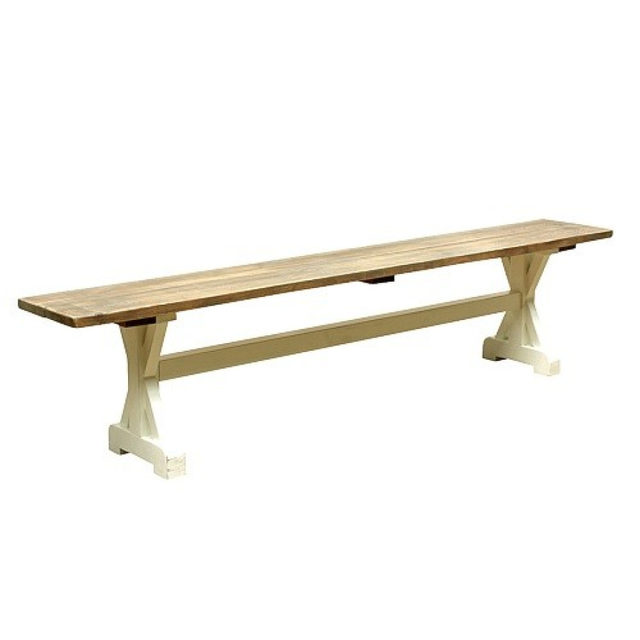 Timzowood Living Kruis bank klein 170x45x30 - Old Strand afbeelding