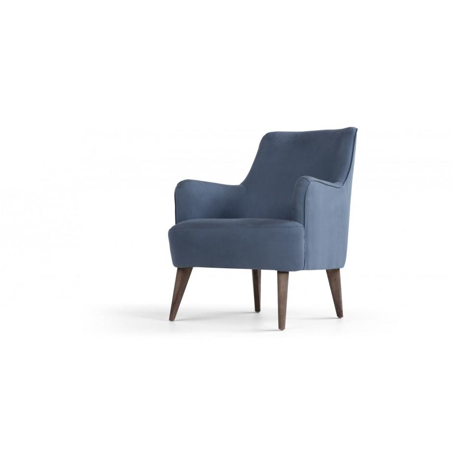 molly fauteuil denim blauw blauw. Black Bedroom Furniture Sets. Home Design Ideas