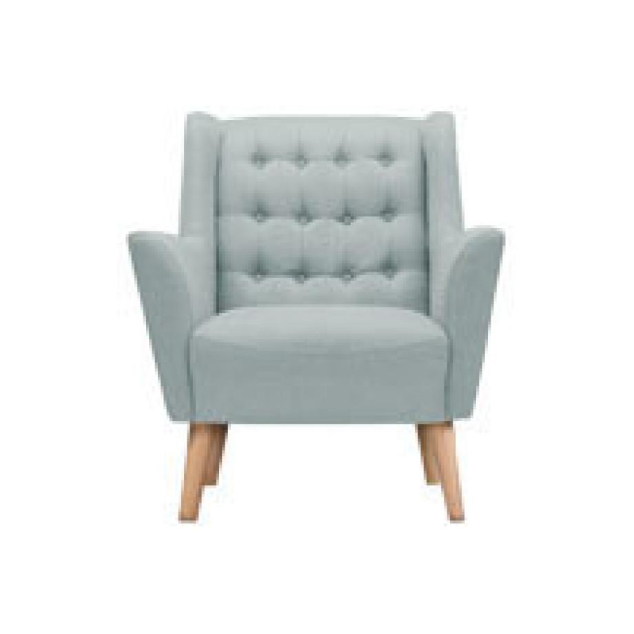 quentin fauteuil ijsblauw modern strak. Black Bedroom Furniture Sets. Home Design Ideas