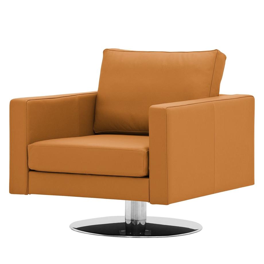 draaifauteuil portobello echt leer echt leer gad cognackleurig i studio copenhagen afbeelding. Black Bedroom Furniture Sets. Home Design Ideas