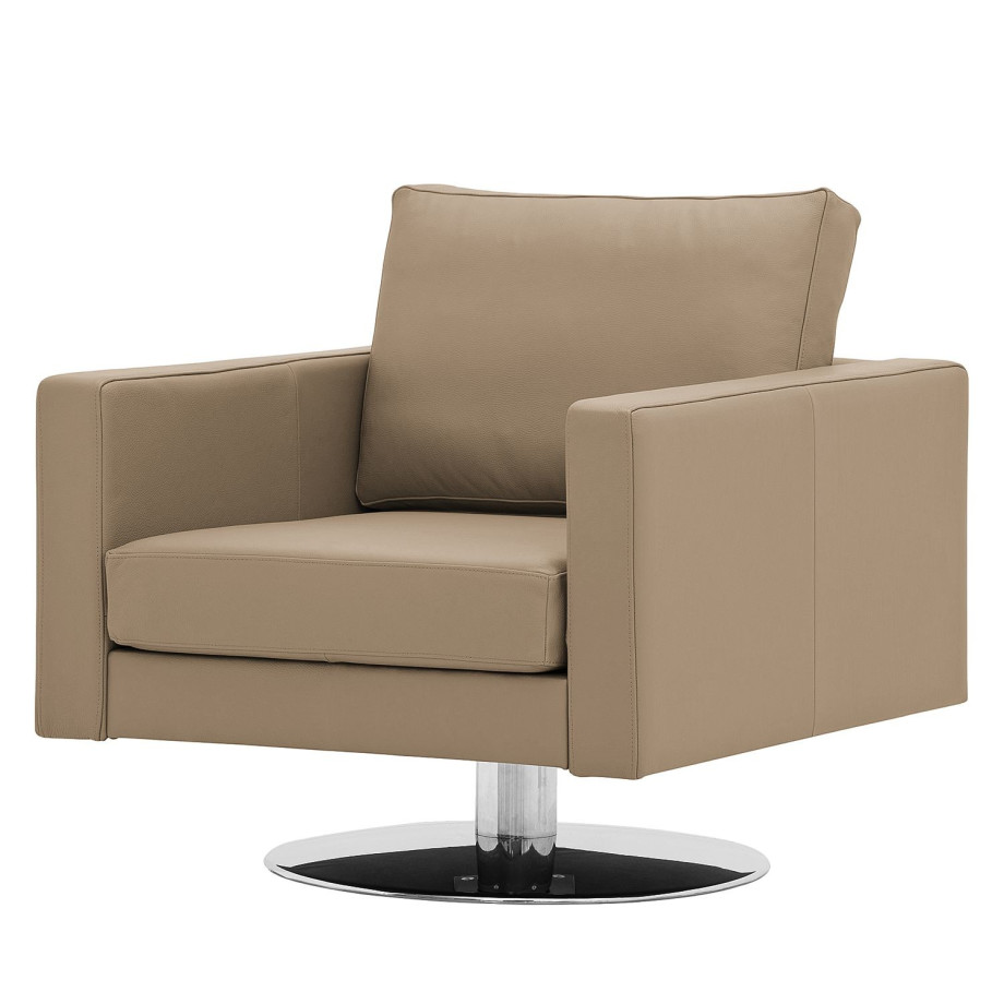 draaifauteuil portobello echt leer echt leer gad taupe studio copenhagen afbeelding. Black Bedroom Furniture Sets. Home Design Ideas