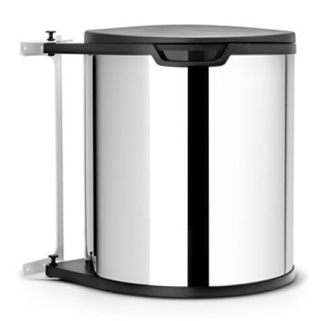 Brabantia Built in Bin Afvalemmer 15 L glans