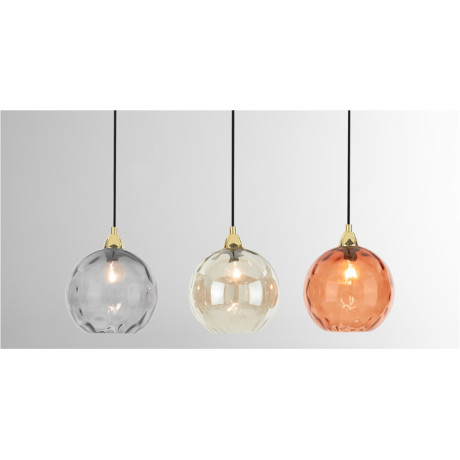 Ilaria hanglamp, multi en messing