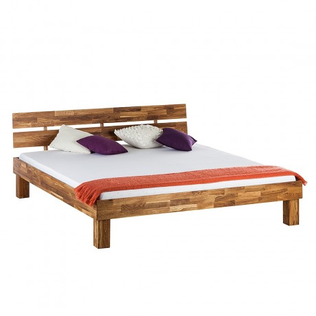 Massief houten bed Ares