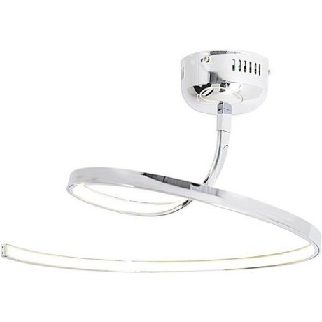 Naeve LED-plafondlamp, vaste LED's, LOOP LINE