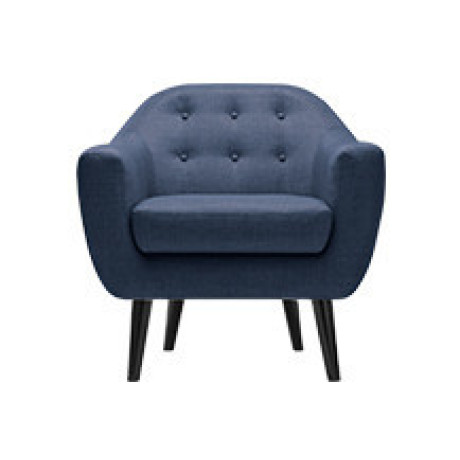 Ritchie fauteuil, marineblauw