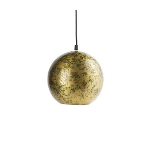 BePureHome Cannonball hanglamp metaal antique brass - Antique brass