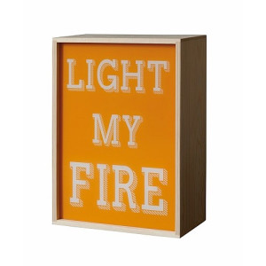 Seletti Lighthink Box Wandlamp + 4 Sheets - 21 x 30 cm