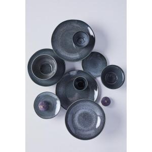 HEMA Mok 8 Cm - Porto - Reactief Glazuur - Zwart (zwart)