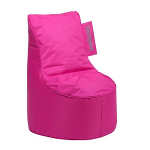 Loungies Junior zitzak stoel 70 cm - fuchsia