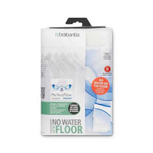 Brabantia Perfect Flow Strijkplankovertrek 124 x 38 cm - Bubbles