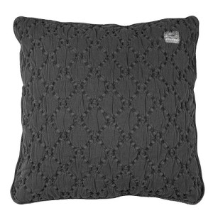 Koeka York Kussenhoes 50 x 50 cm - Dark Grey