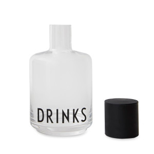 Design Letters Drinks Karaf - 0,5 L