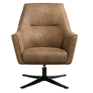 Fauteuil Niles - taupe - Leen Bakker