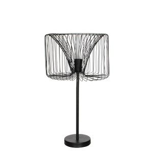 Mica Decorations Salomo Bureaulamp - Zwart