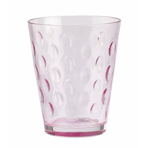 Villeroy & Boch Dressed Up Waterglas - Dots Rose