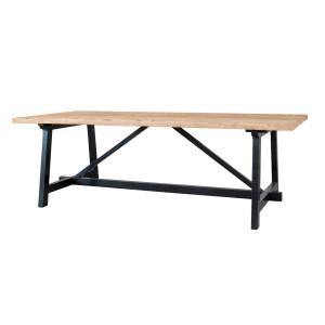 Lifestyle Home Collection - Brugge Eettafel - Bruin