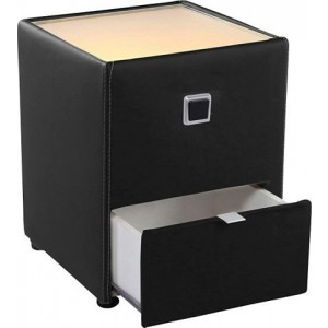 Nachtkastje met LED-verlichting