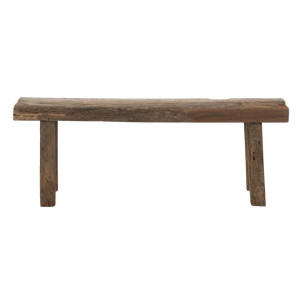 Bank decoratief Ties - naturel - 40x110x24 cm - Leen Bakker