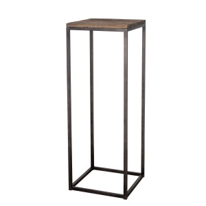 Lifestyle Home Collection - Madrid Sidetable 40x40x110 - Bruin