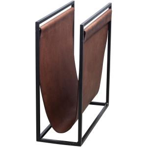 leren tijdschriftenrekken lectuurbakken online kopen. Black Bedroom Furniture Sets. Home Design Ideas