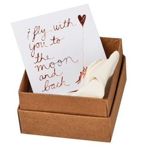 Räder Message in a Box Ornament 5 cm - I Fly With You