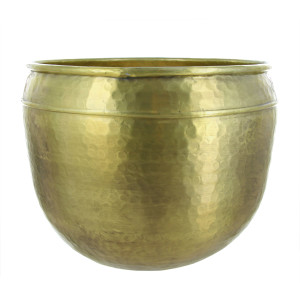 Lifestyle Home Collection - Aluminium XLarge Bloempot - Goud