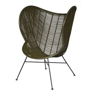 Lifestyle Home Collection - Laila Fauteuil - Groen