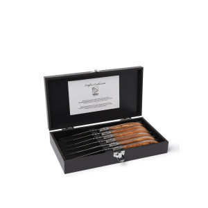 Laguiole Luxury Line steakmes set van 6