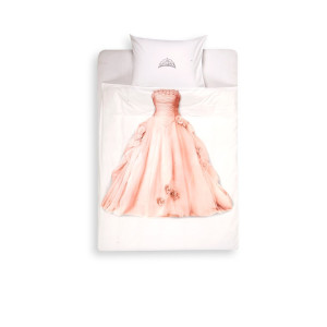 Snurk Princess kinderdekbedovertrekset van katoen perkal 160 TC