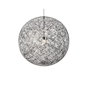 Moooi Random Light hanglamp zwart medium