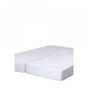 Golden Crown molton hoeslaken splittopmatras waterdicht (tot 12 cm matras)