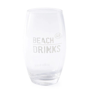 Beach Drinks longdrinkglas (Ø9 cm)
