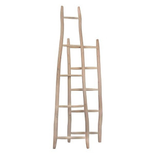 Household Hardware Luxe Ladder Bruin - 200 cm