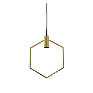 Light & Living Hanglamp 'Aina', goud