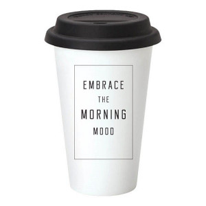 The Gift Label Take Away Mok - Embrace The Morning Mood
