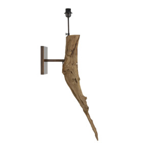 Light & Living Wandlamp 'Dulovo', hout naturel