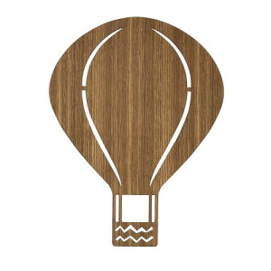 Ferm Living Air Balloon Lamp - Eikenhout